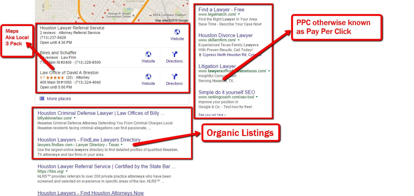 SEO Website Design Houston - SEO Brings Qualified Search Traffic via SEO