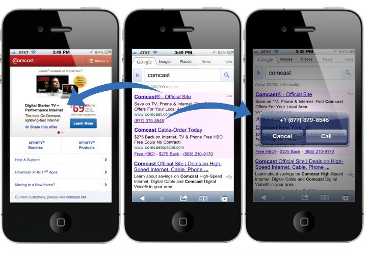 Houston Mobile Ads PPC Services - click-to-call-only-ads Houston PPC Services