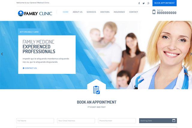 Medical Clinic Website Houston