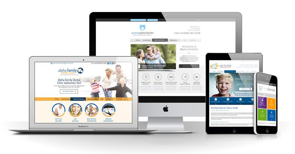Dentist Website Design Houston