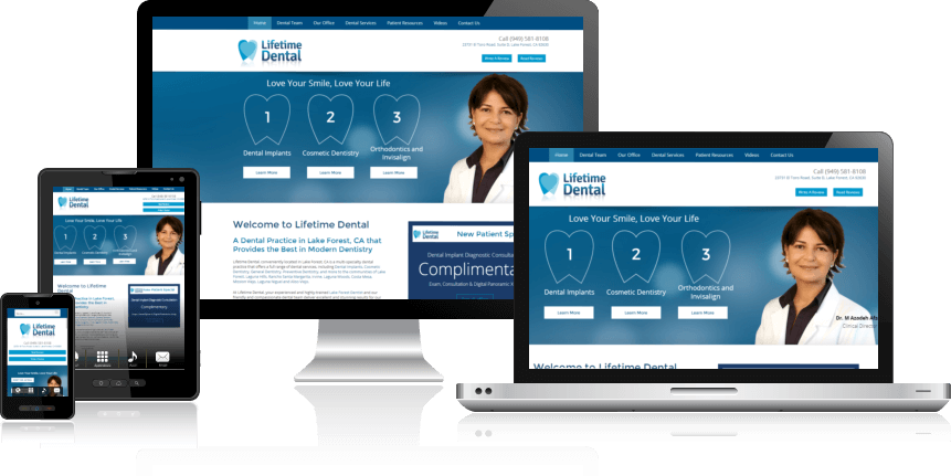 Dentist Website Design Houston