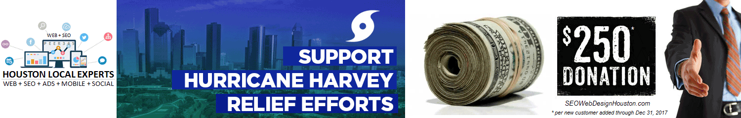SEO-Web-Design-Houston-Hurricane-Harvey-Relief-$250-Donation-Program