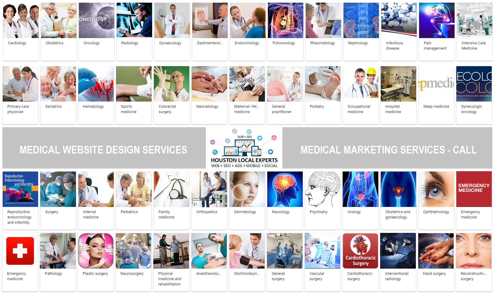 SEO CONSULTANT TEXAS MEDICAL CENTER WEB DESIGN AND SEO SERVICES
