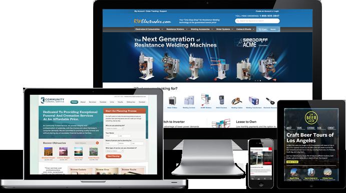 Website Design Conroe Responsive WordPress Website
