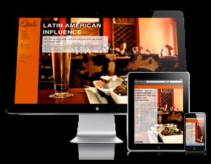 WordPress Website Design Houston - Restaurant Website