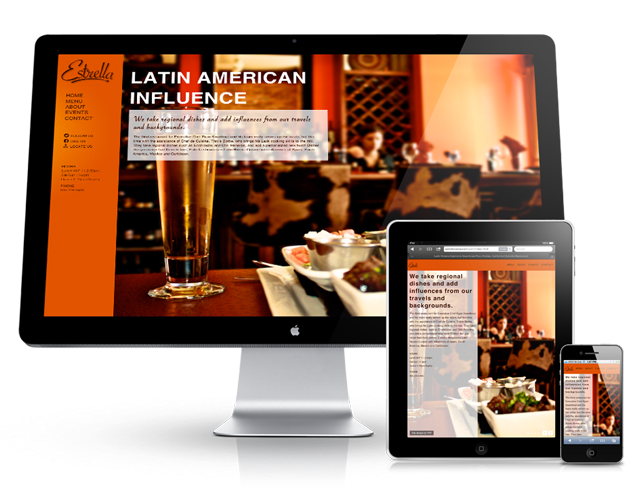 WordPress Website Design Houston - Restaurant Website